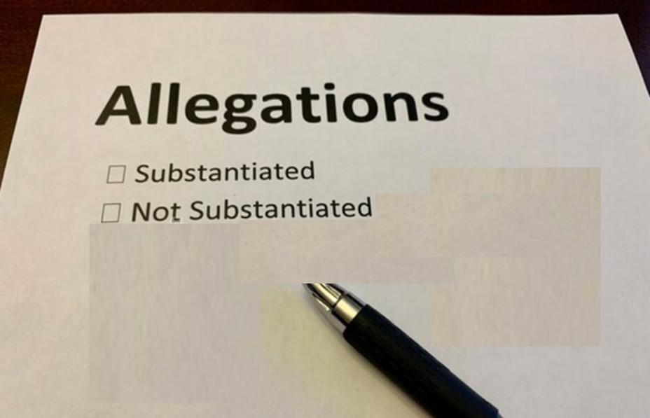 False allegations survey